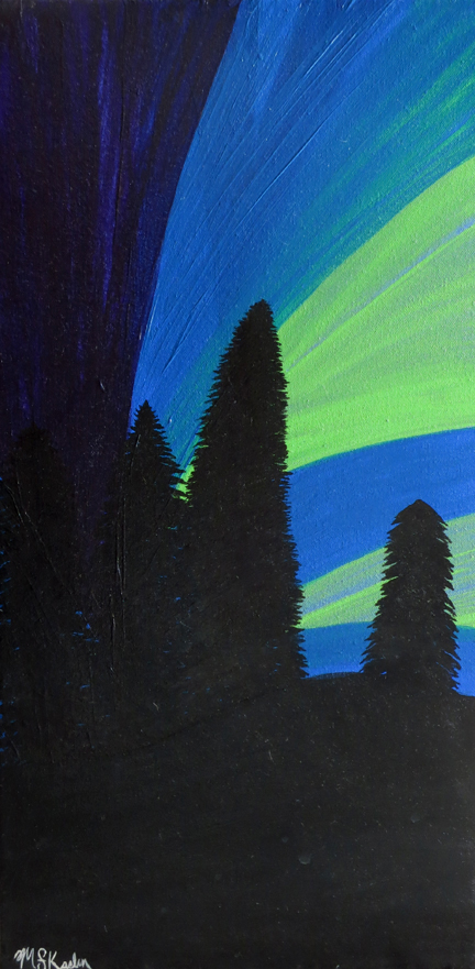 Study Of Northern Lights