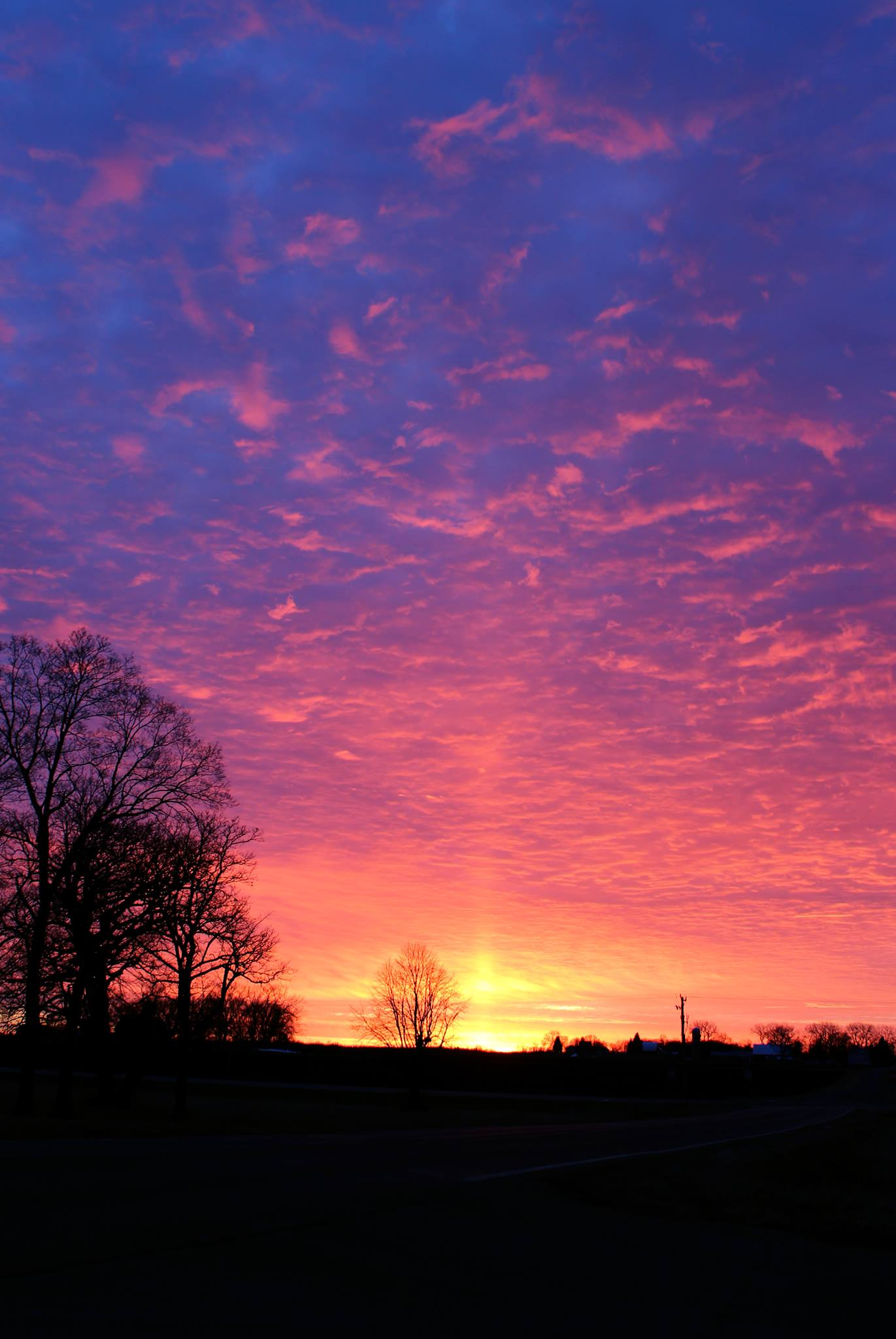 Sun Pillar Photo by Melissa F. Kaelin